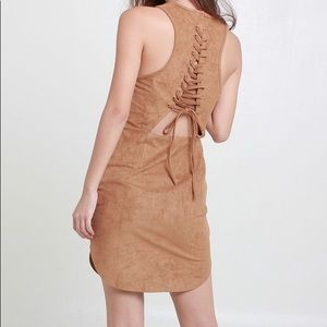 Indikah by LF Suede Dress